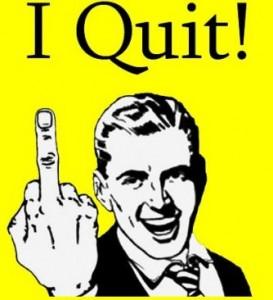 Licenziarsi, lasciare il lavoro