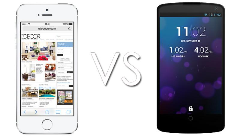 iphone 6 vs nexus 5